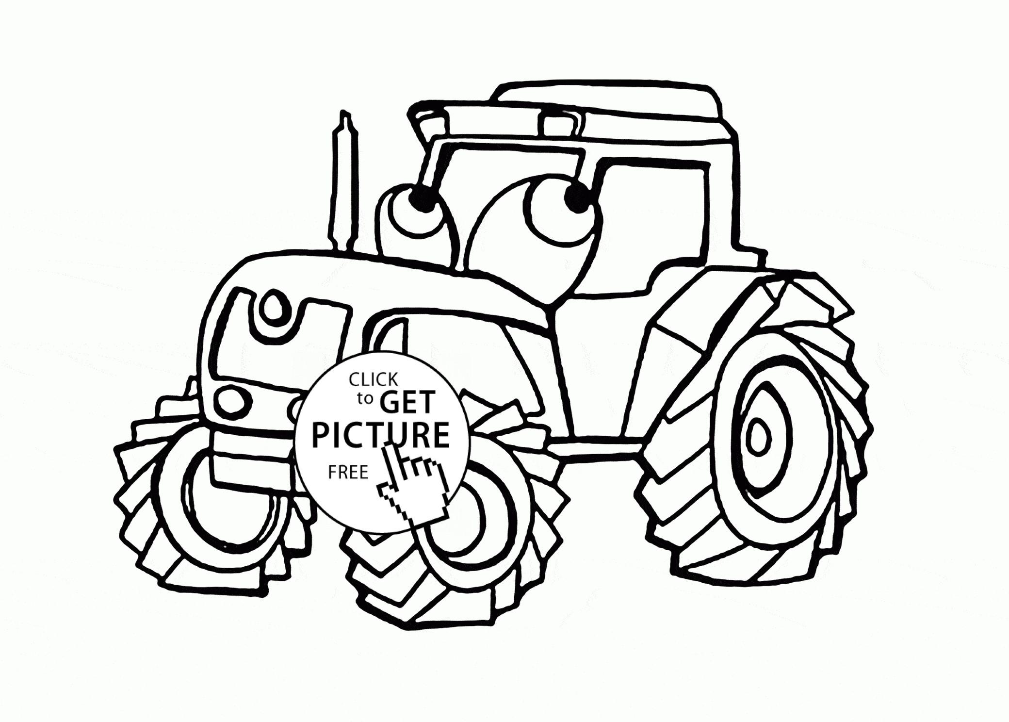 Tractors Drawing At Getdrawings