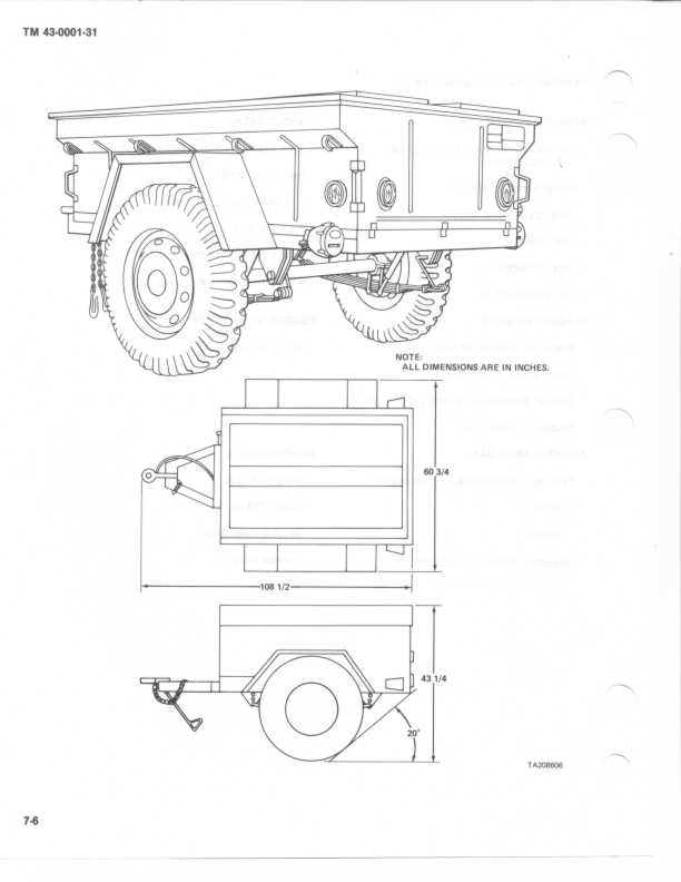 Wiring Diagram M416 Military Trailer