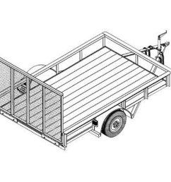 2000x2000 utility trailer blueprints northern tool equipment [ 2000 x 2000 Pixel ]