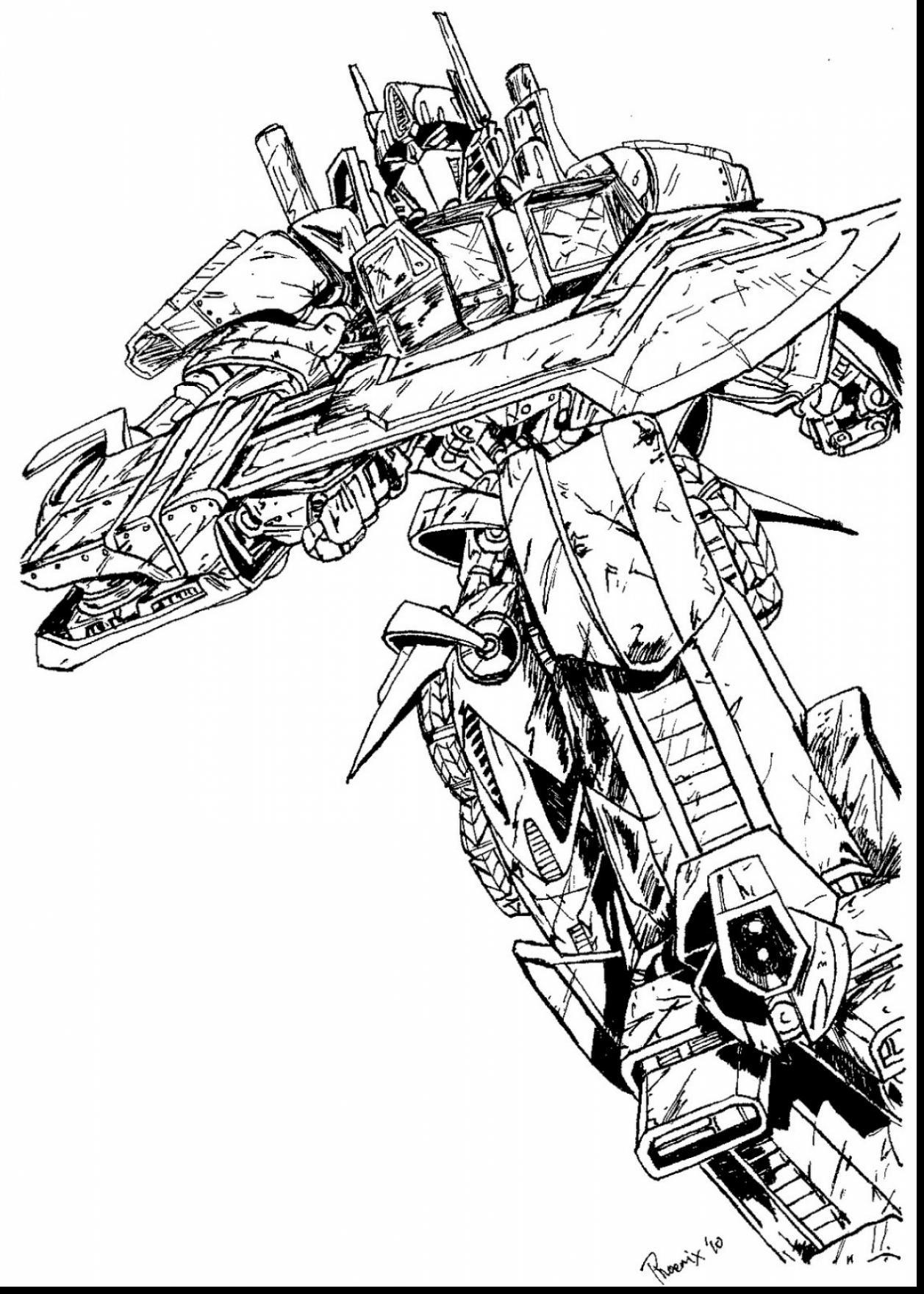 Transformers 4 Drawing At Getdrawings
