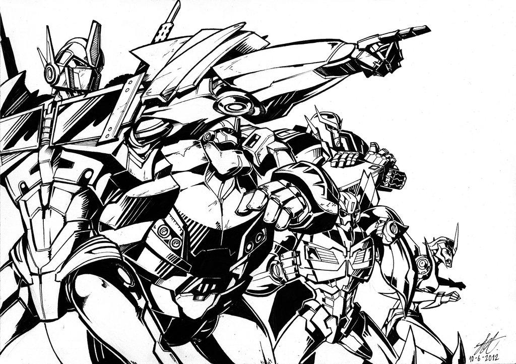 More Transformers Prime Concept Art By Jose Lopez