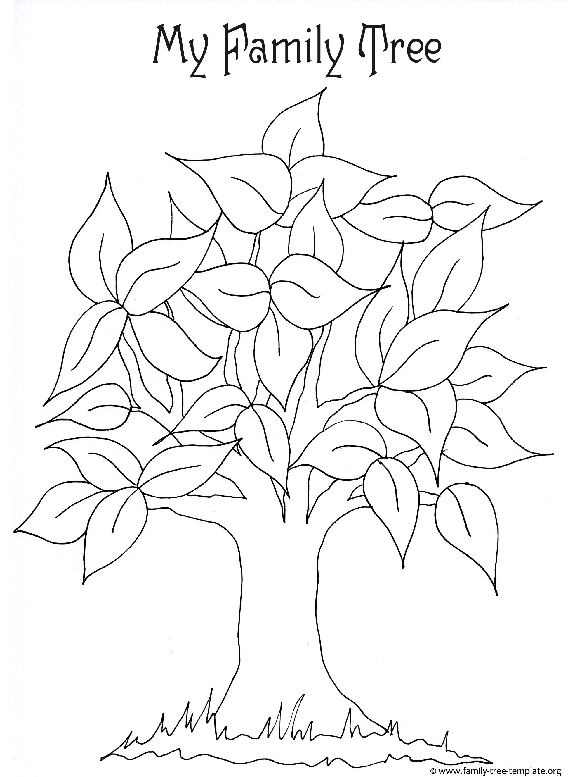 Tree Drawing For Kids At Getdrawings