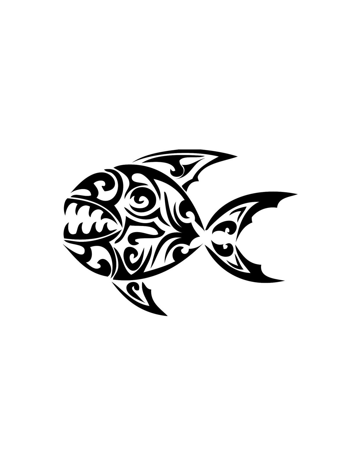 Tribal Fish Drawing At Getdrawings