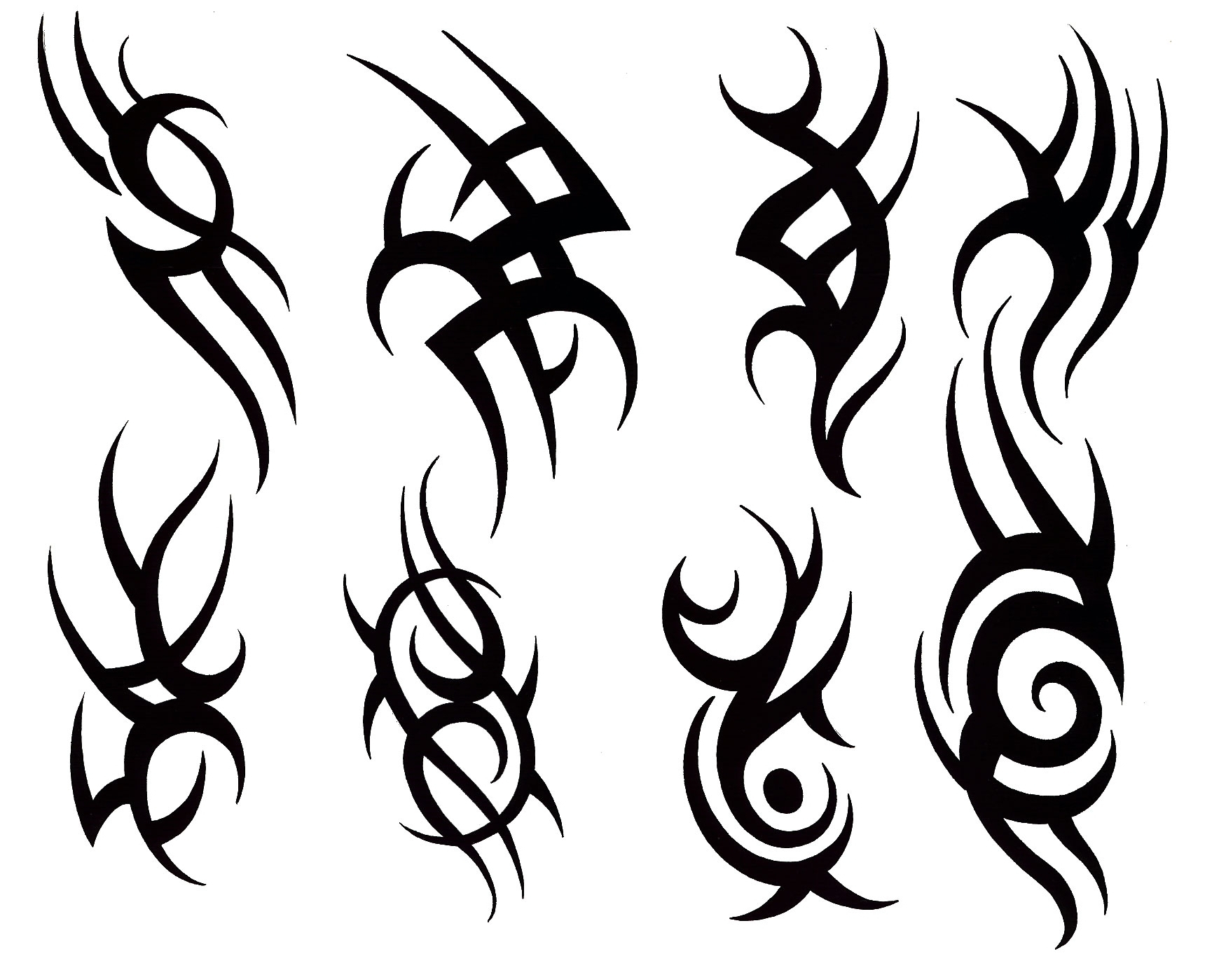 Tribal Tattoos Designs Meanings