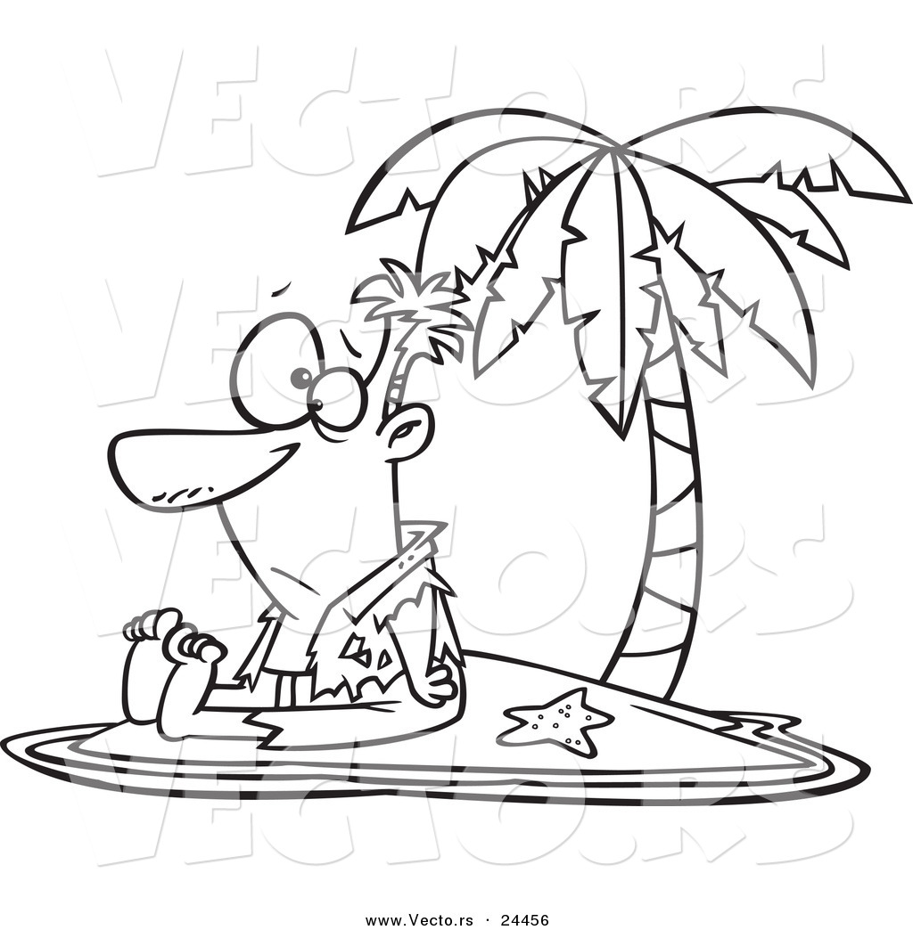 Tropical Island Drawing At Getdrawings