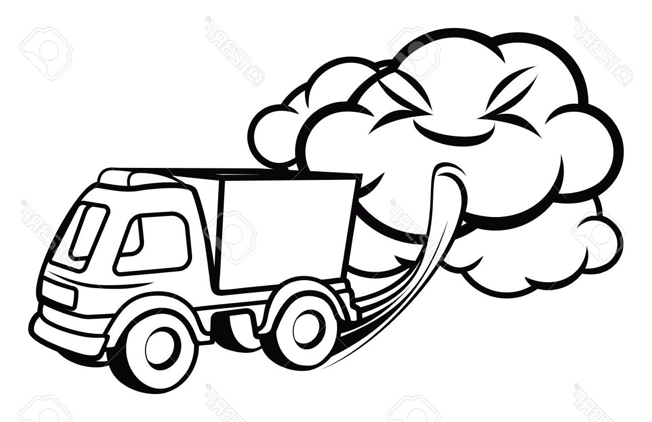 Truck Cartoon Drawing At Getdrawings