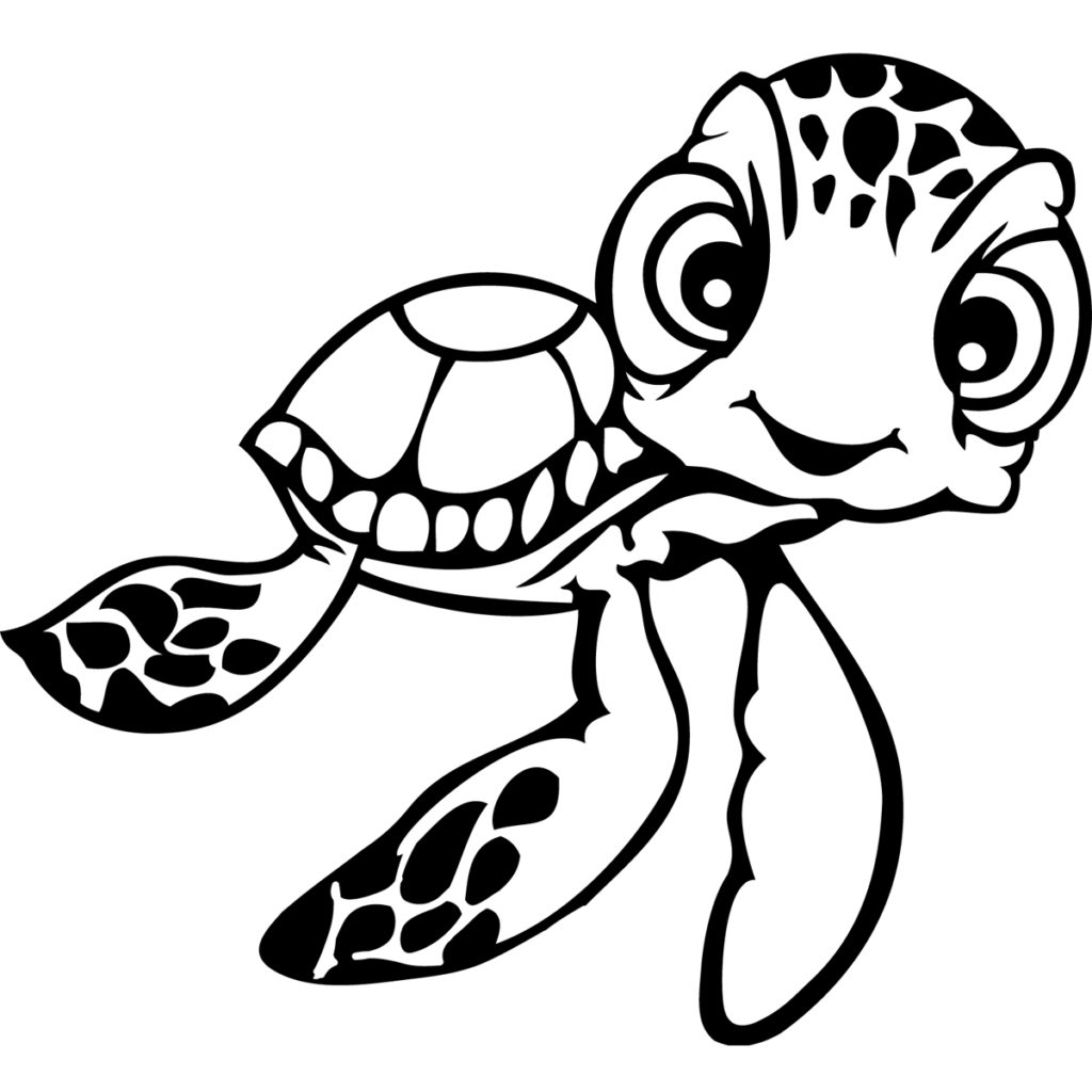 Turtle Outline Drawing At Getdrawings