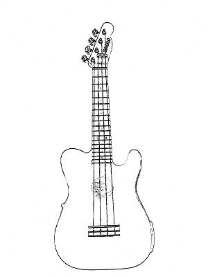 The best free Telecaster drawing images. Download from 42