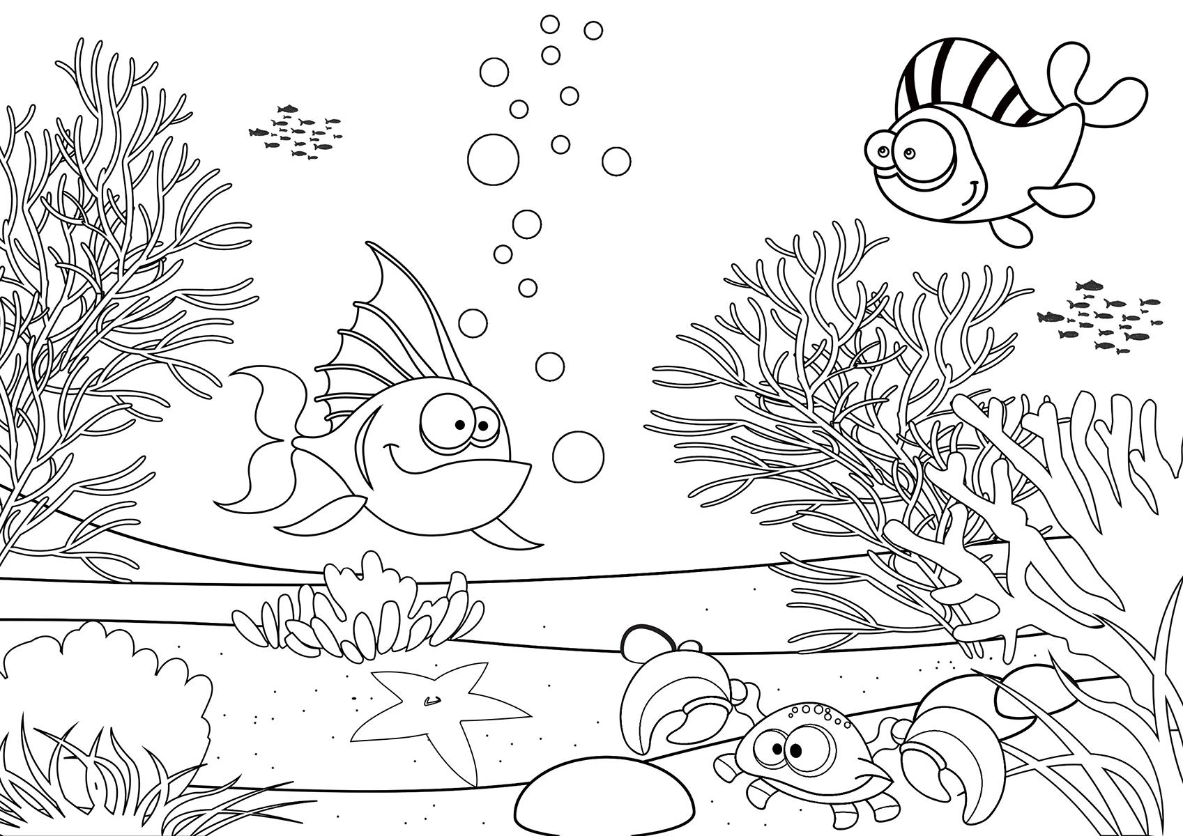 Under Sea Drawing At Getdrawings