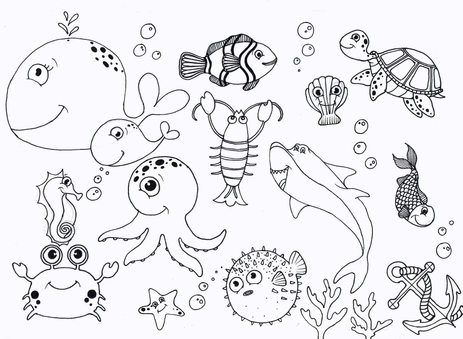 Under The Ocean Drawing At Getdrawings