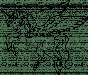 unicorn drawing cartoon line getdrawings