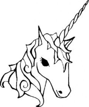unicorn drawing easy simple cartoon unicorns coloring pages drawings draw sketches kawaii head face awesome getdrawings outline clipartmag colouring impressive