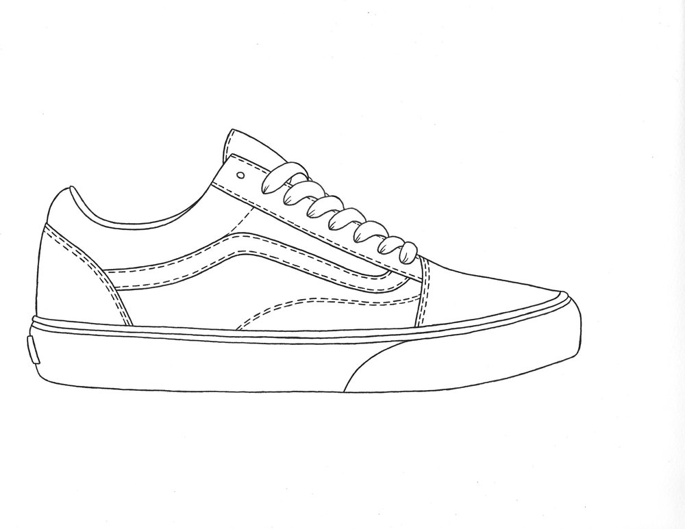 Vans Checkerboard Shoes With Laces