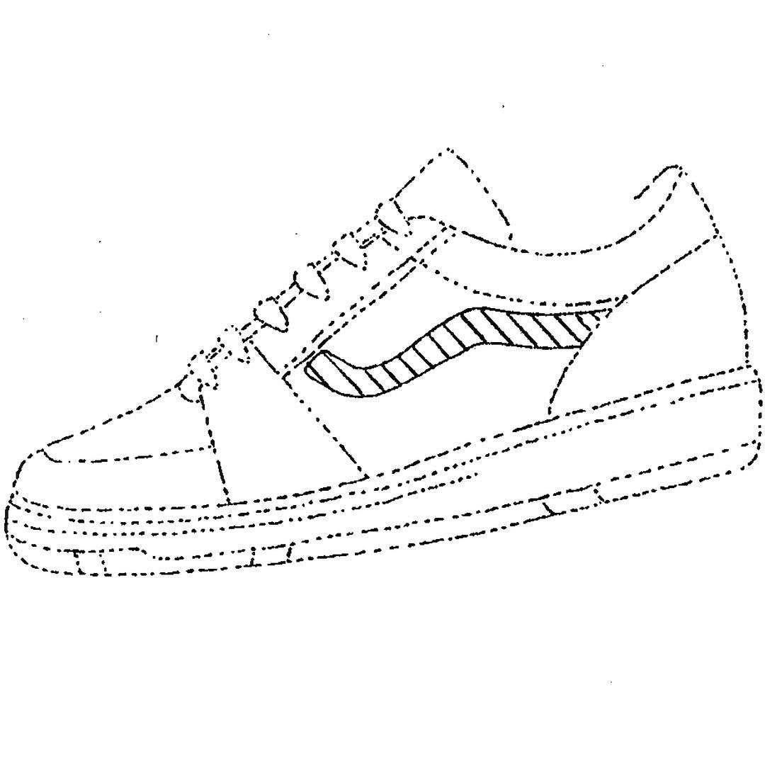 Vans Shoes Drawing At Getdrawings