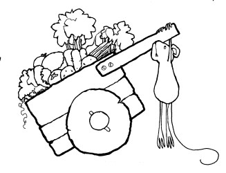 vegetable garden clipart vegetables drawing clip draw getdrawings clipartxtras gclipart