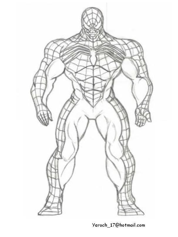 Full Body Venom 2018 Drawing