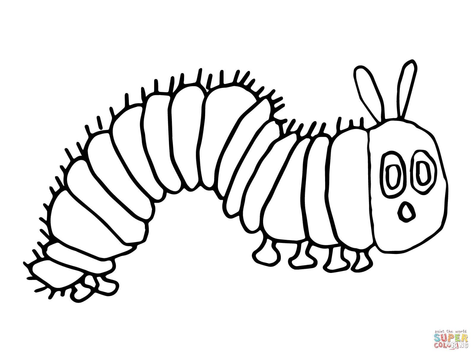 Very Hungry Caterpillar Drawing At Getdrawings