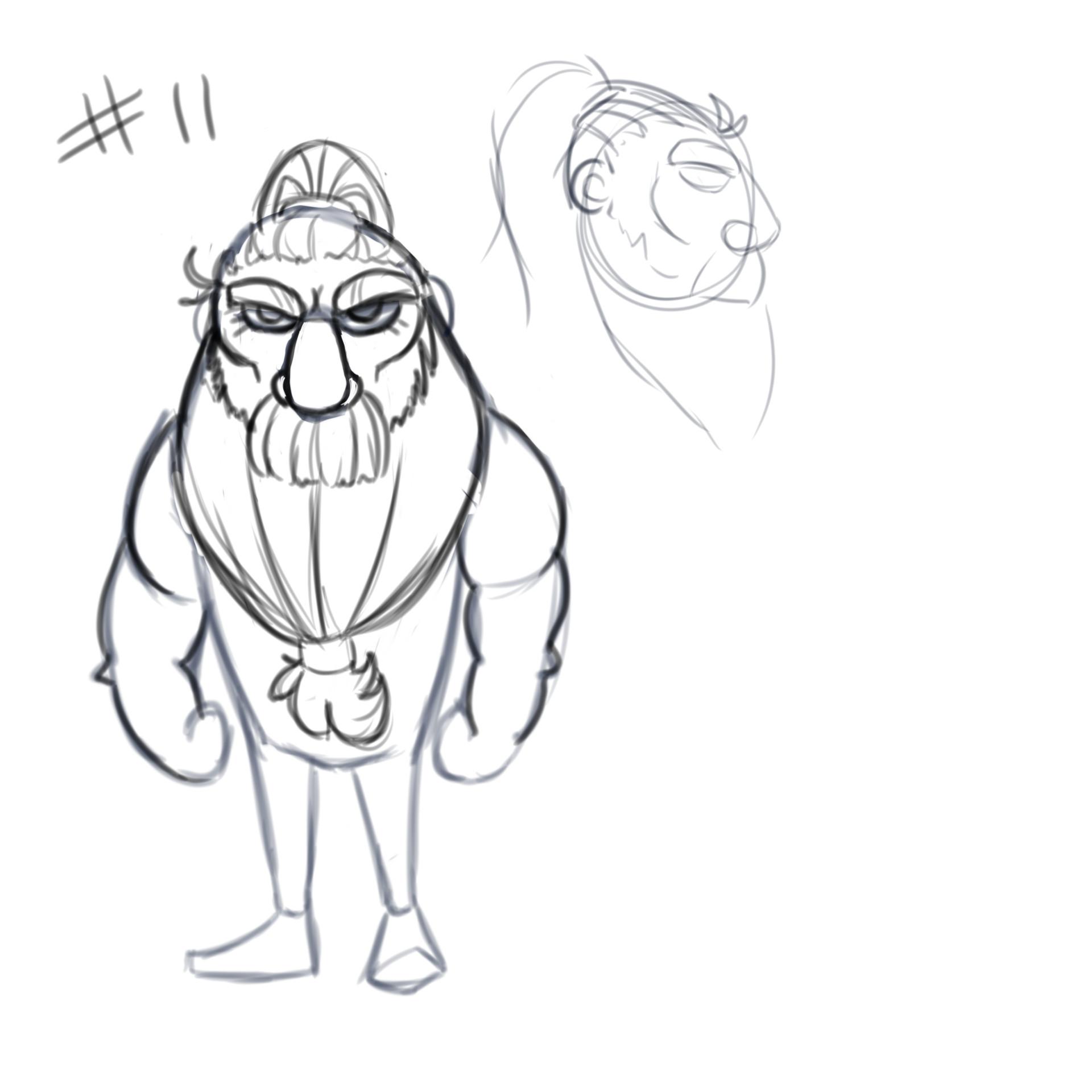 Viking Face Drawing At Getdrawings
