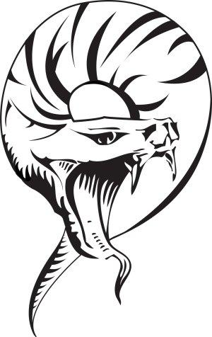 snake tattoo tribal cobra head tattoos designs king viper drawing drawings cool getdrawings clipartmag