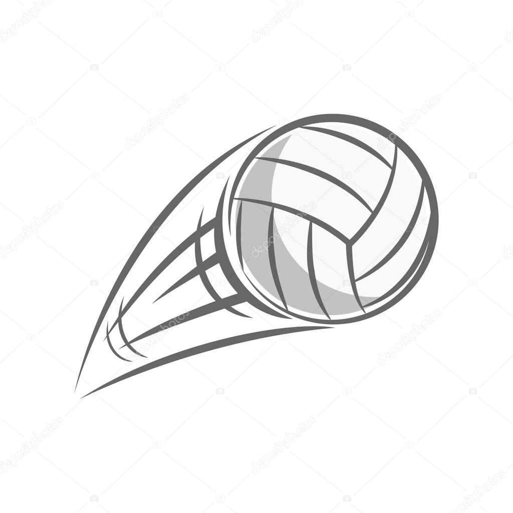Volleyball Ball Drawing At Getdrawings