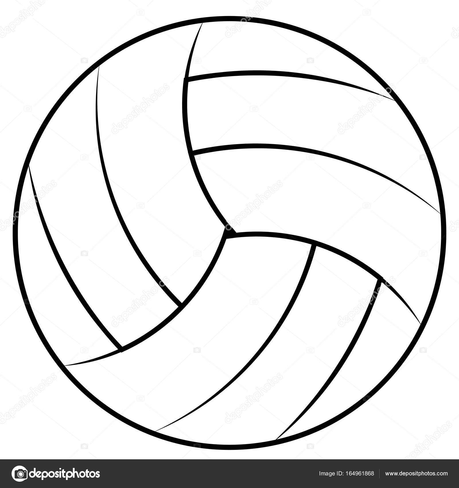 Volleyball Ball Drawing At Getdrawings