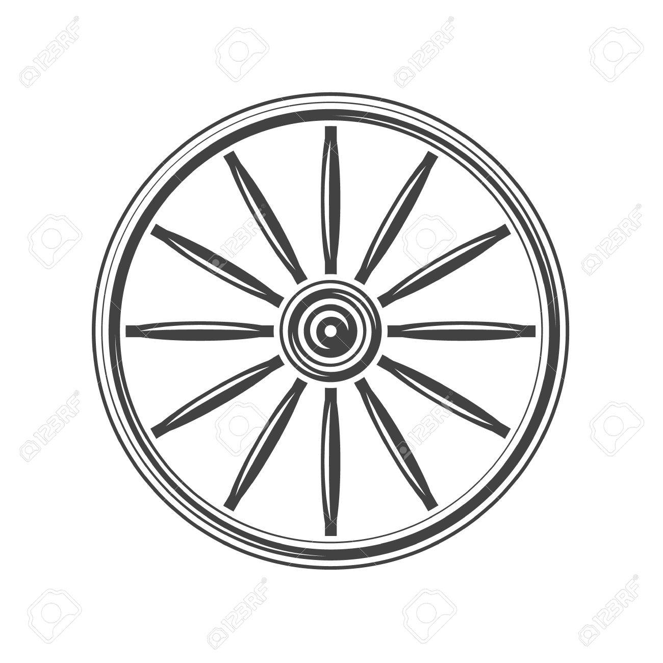 Wagon Wheel Drawing At Getdrawings