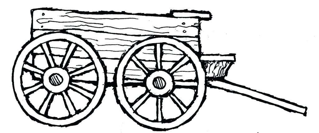 Mormon Share Covered Wagon