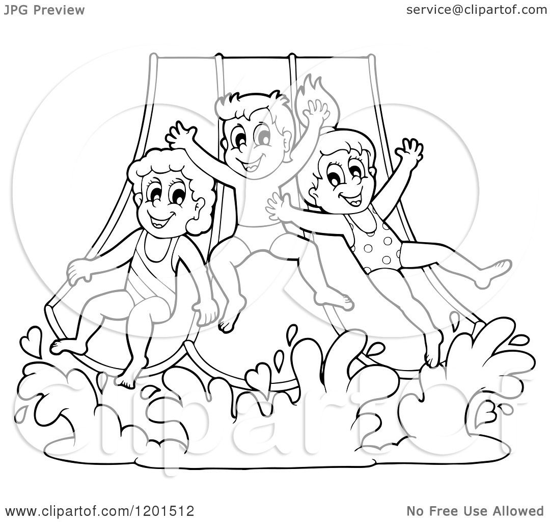 Water slide drawing at getdrawings free for personal use water water slide drawing 10 water slide