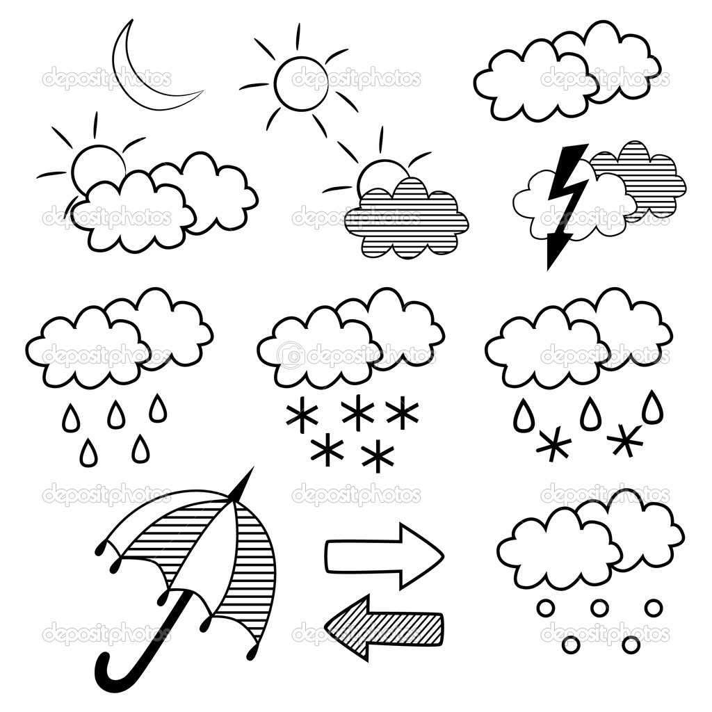 Weather Drawing At Getdrawings
