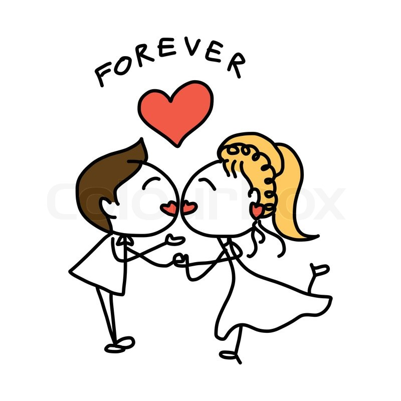 Wedding Cartoon Drawing at GetDrawingscom  Free for
