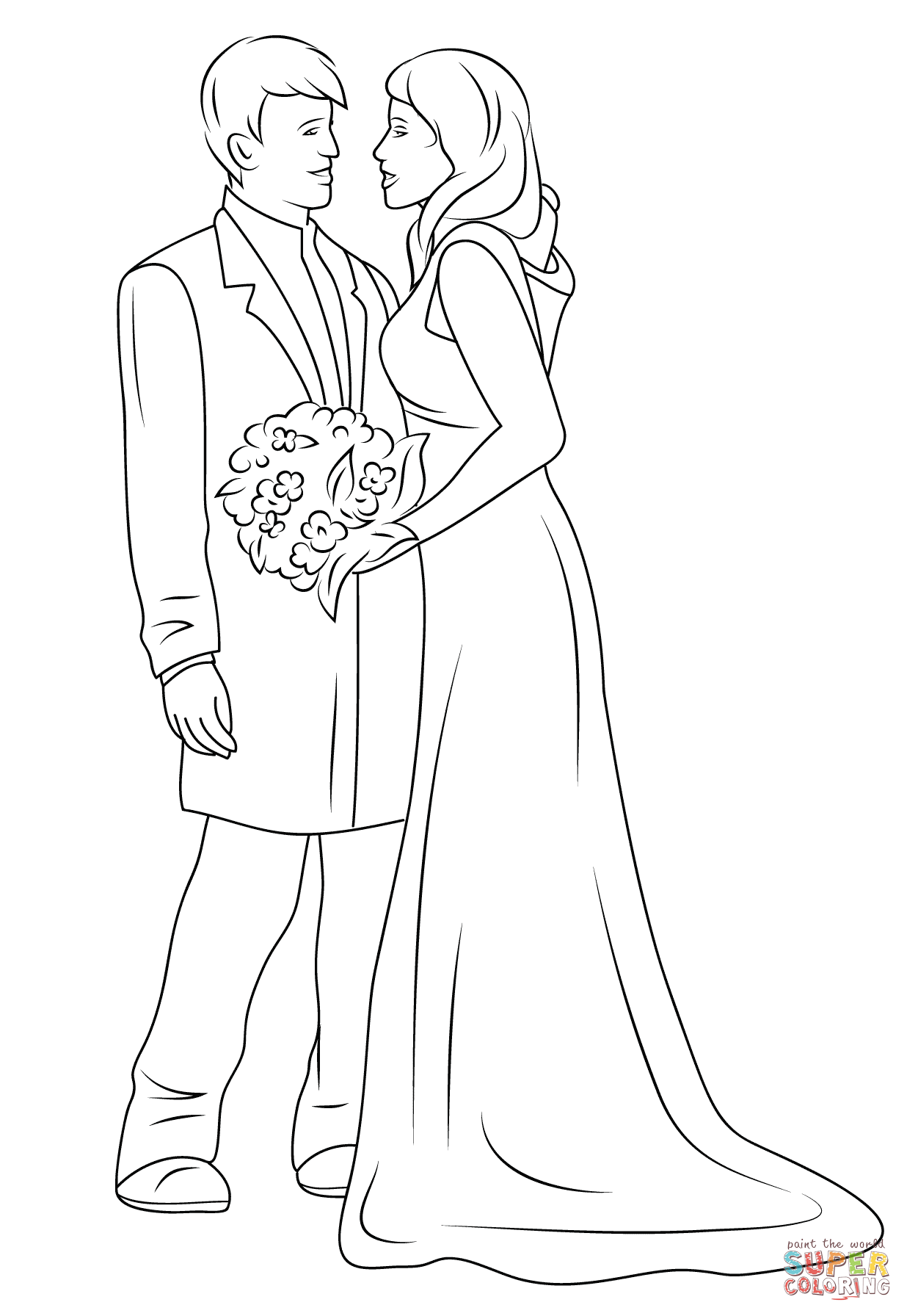 Wedding Drawing Pictures At Getdrawings