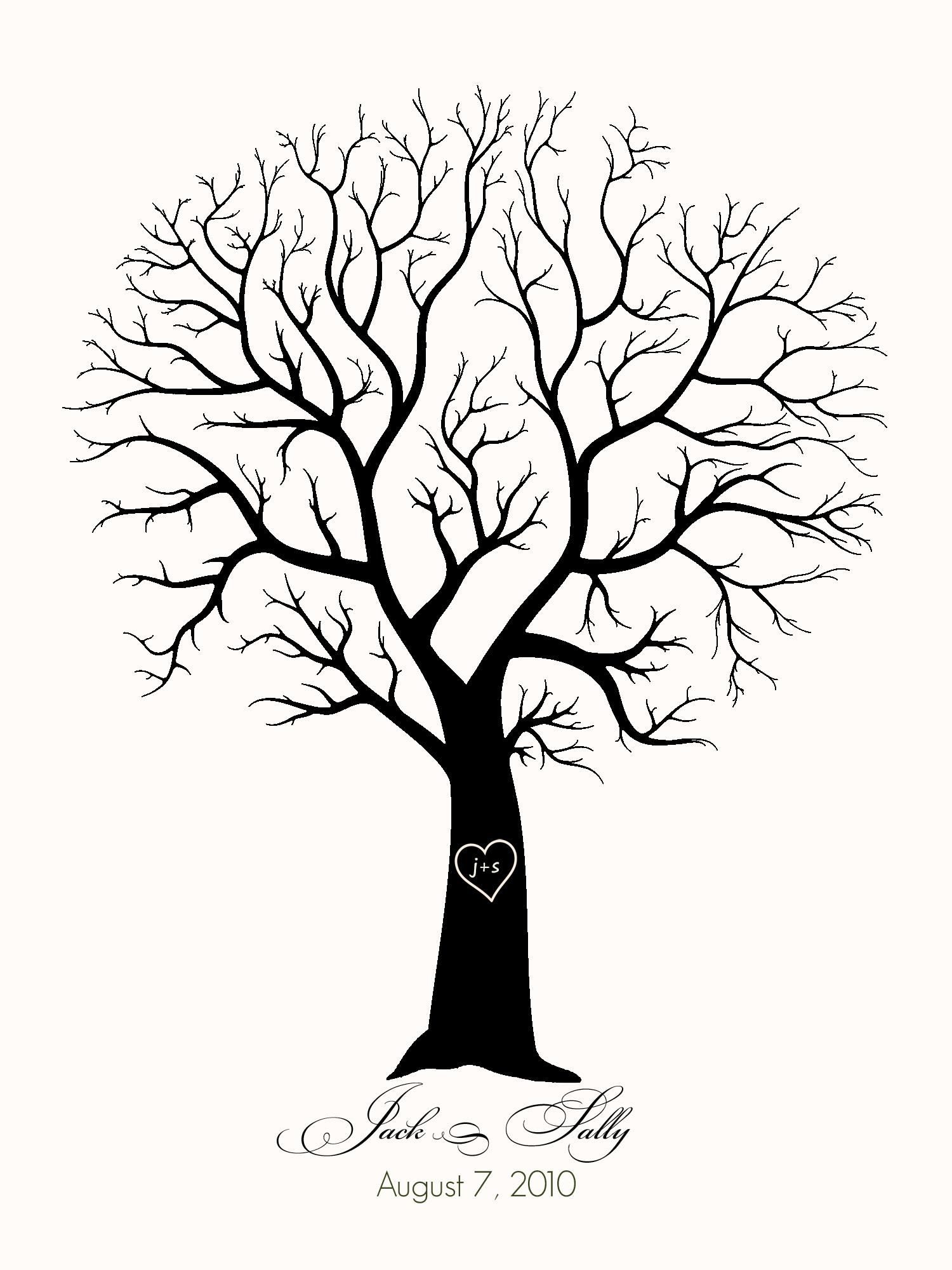 Wedding Tree Drawing At Getdrawings