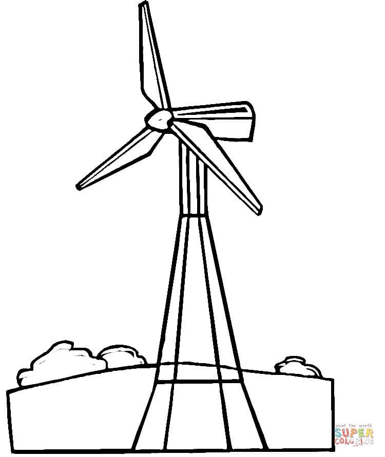 Wind Mill Drawing at GetDrawingscom  Free for personal
