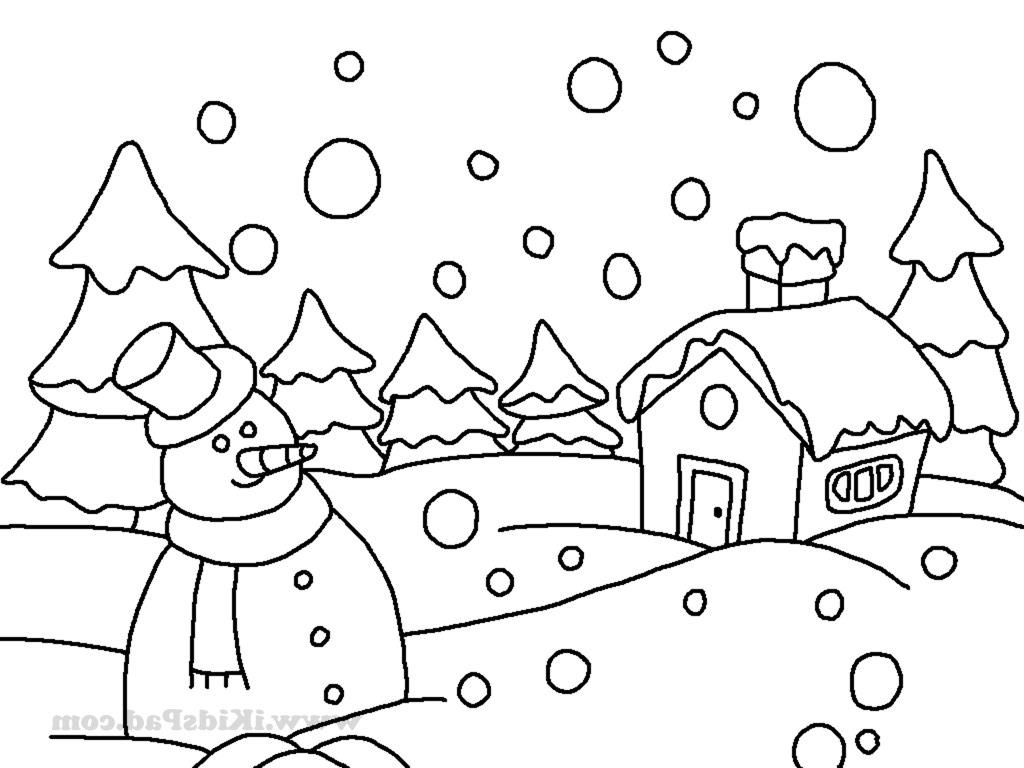Winter Drawing Images At Getdrawings