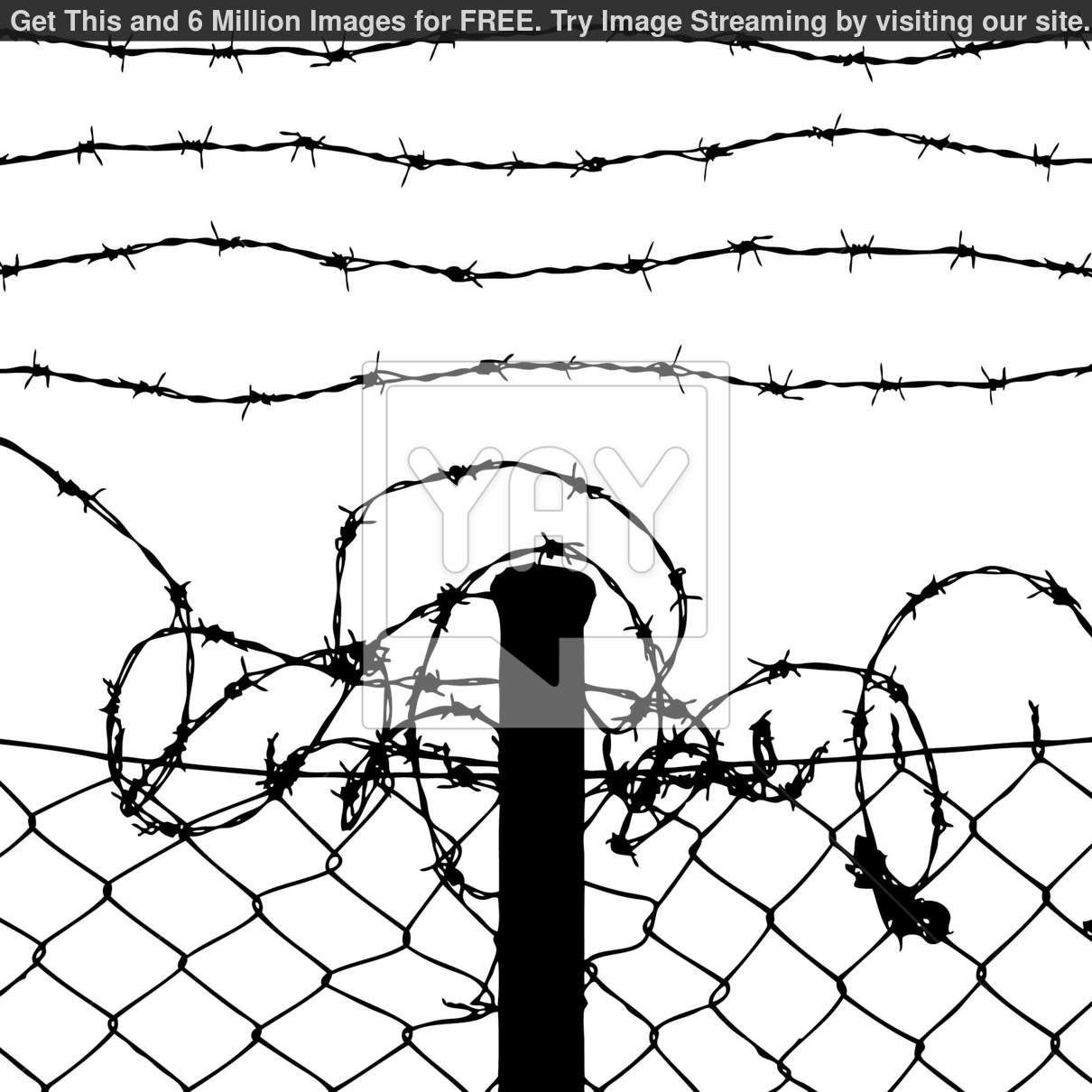Wire Fence Drawing At Getdrawings