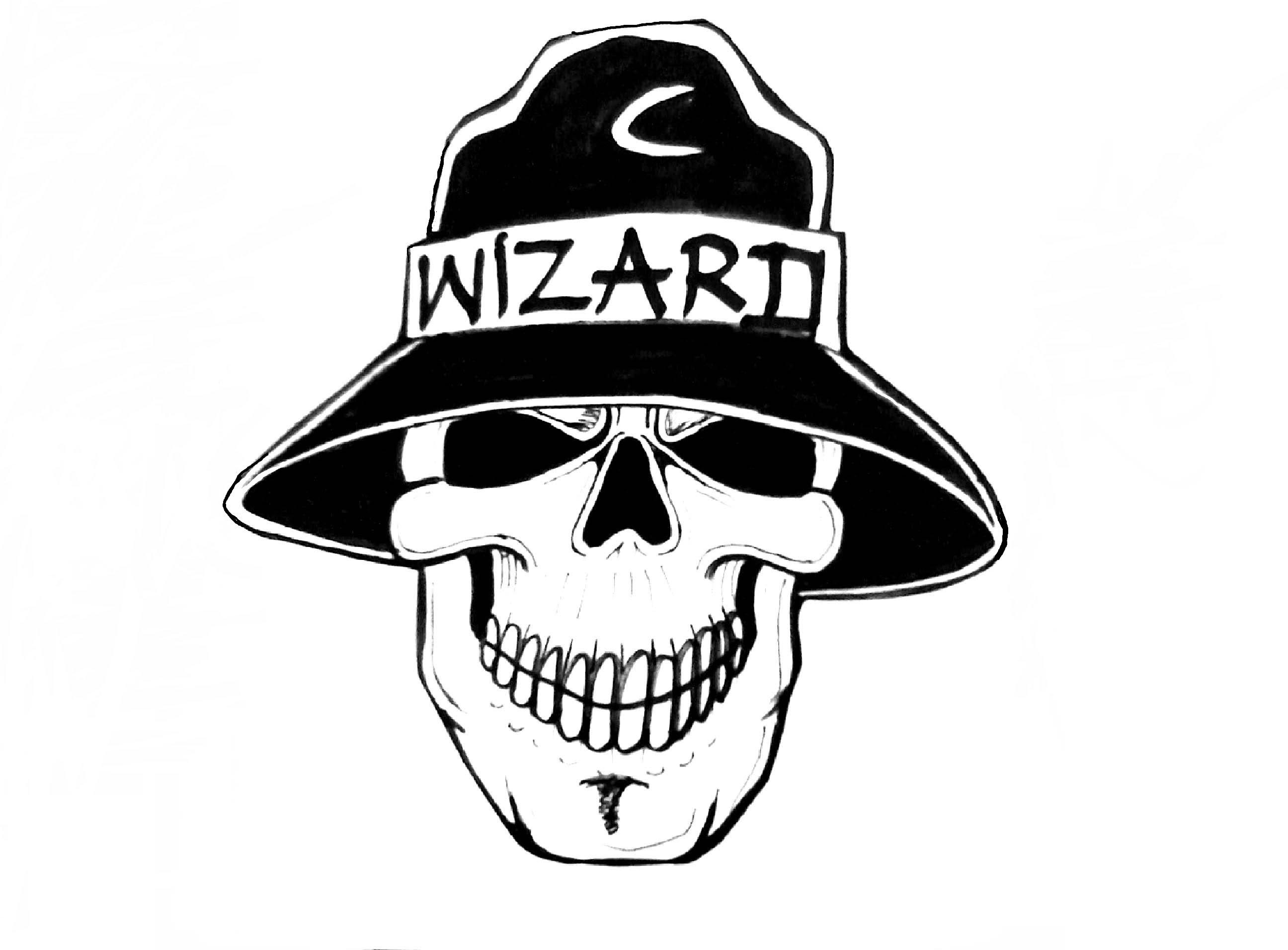 Wizard Hat Drawing At Getdrawings