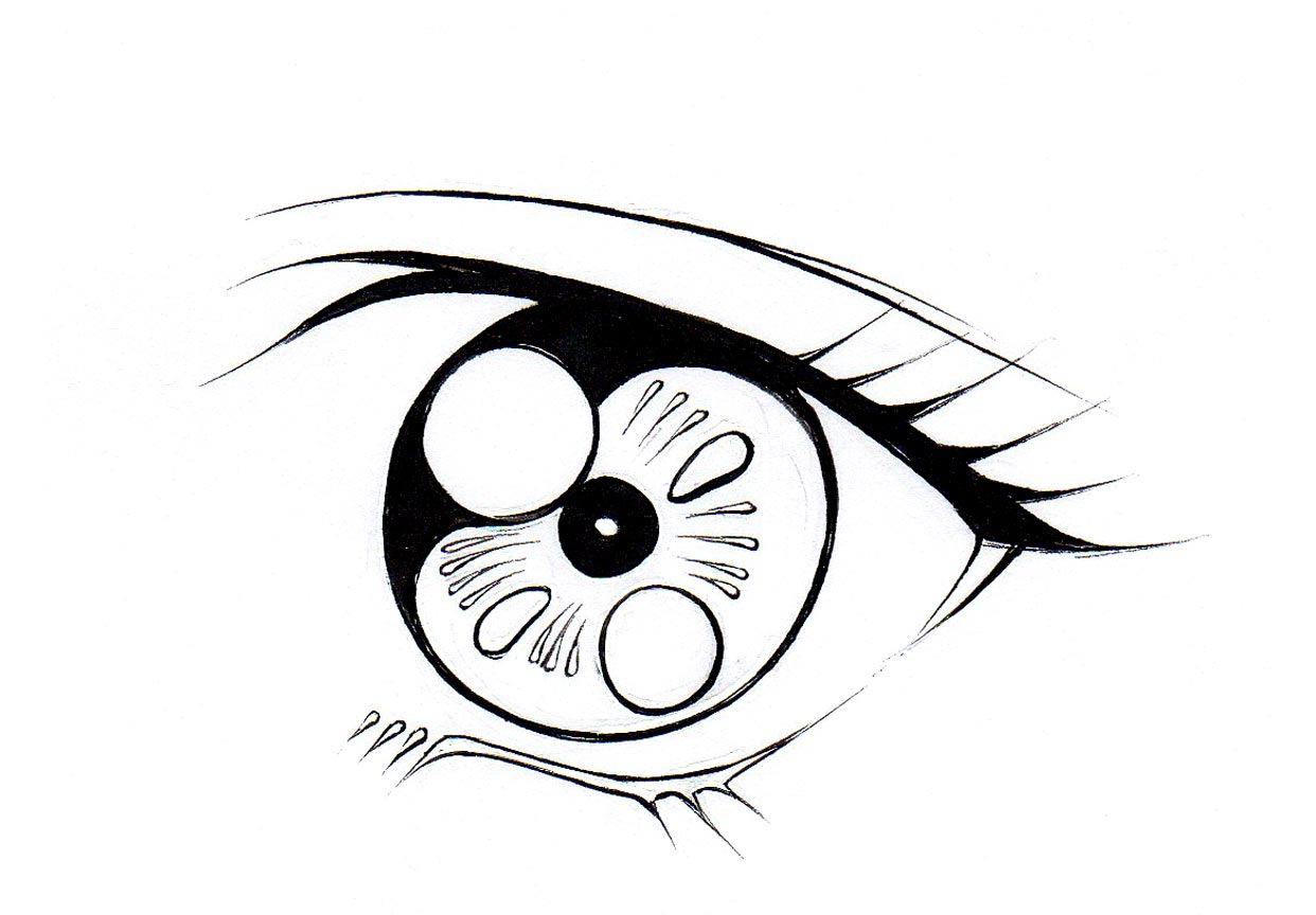 Woman Eyes Drawing At Getdrawings
