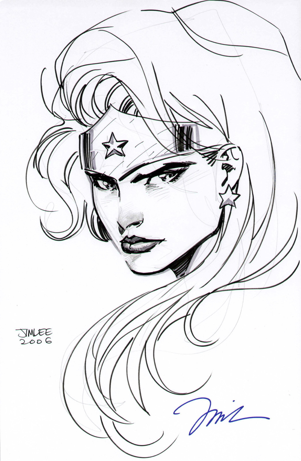 Women Superhero Drawing At Getdrawings