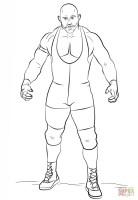 Wwe Ryback Drawing at GetDrawings   Free download