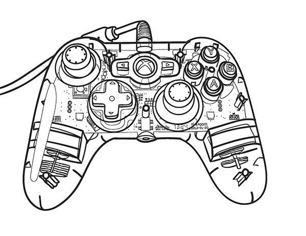 Xbox 360 Usb Controller Schaltplang
