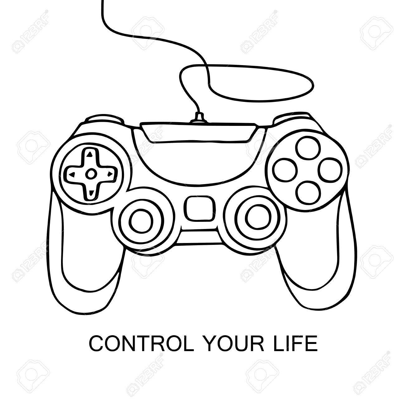 Xbox Controller Drawing At Getdrawings