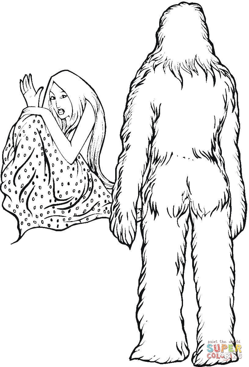 The best free Yeti drawing images. Download from 86 free