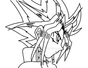 yu gi oh drawing line crayon joker getdrawings pencil deviantart