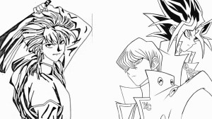 yu gi oh drawing draw yami yugi kaiba seto getdrawings tasuki manga