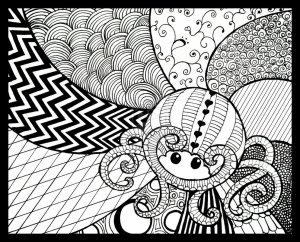 zentangle zentangles doodle tangle designs coloring easy patterns drawing drawings zen deviantart pages examples pattern cool zentagle step doodles animals