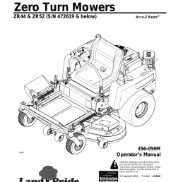 954x1235 land pride zr52 user manual 40 pages also for zr44 [ 954 x 1235 Pixel ]