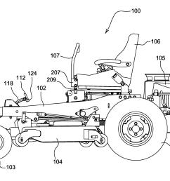 2442x1731 ten 608 zero turn mower drawing investingbb [ 2442 x 1731 Pixel ]