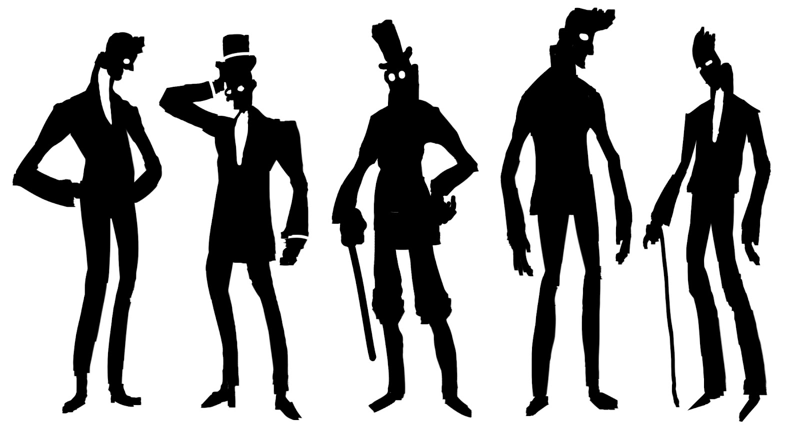 S Gangster Silhouette At Getdrawings