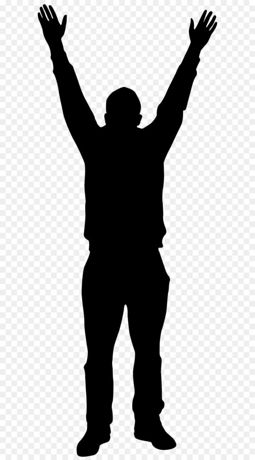 small resolution of 900x1620 silhouette man clip art
