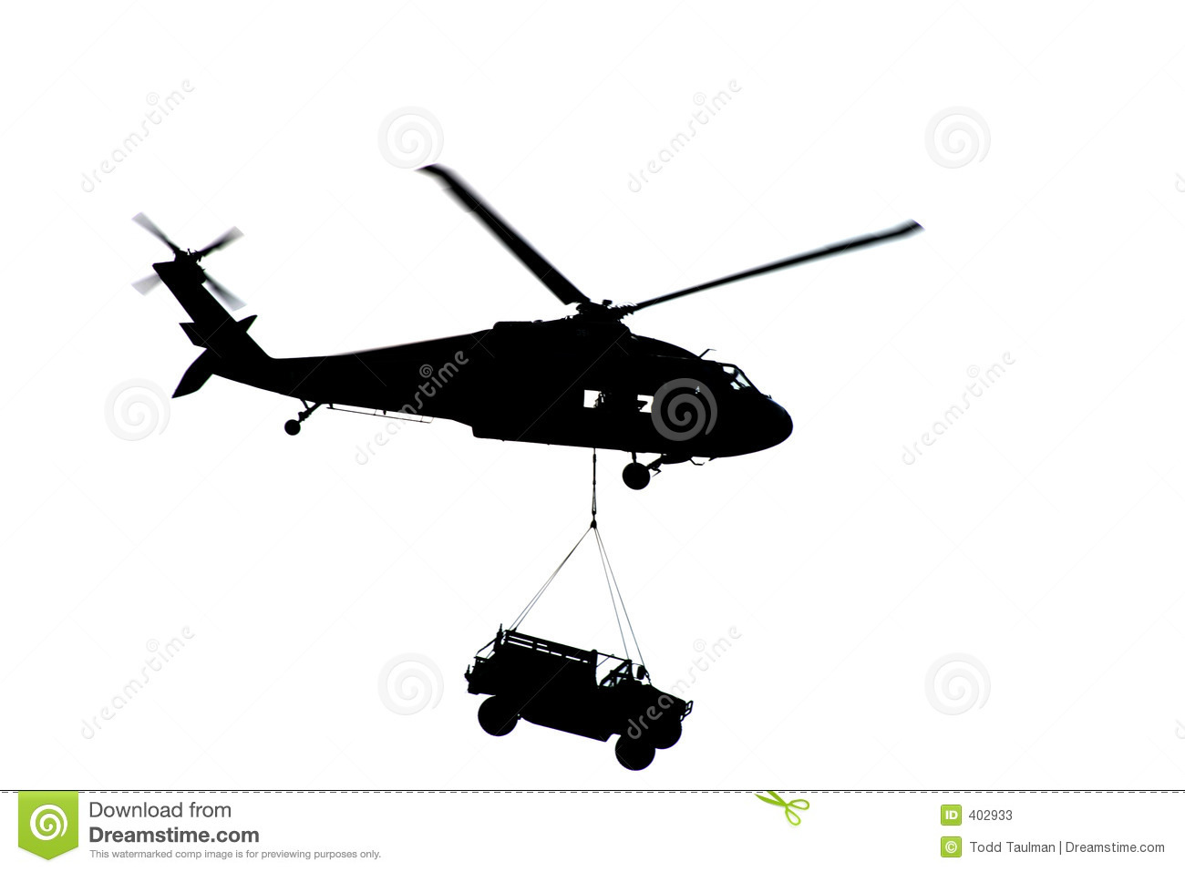 hight resolution of apache helicopter silhouette